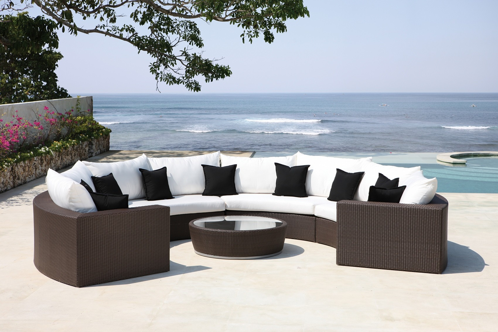 Discount Designer Outdoor Furniture Uk Perfect garden with modern